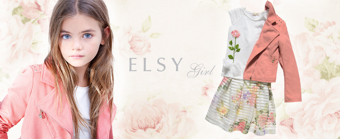 Spring in bloom: the flower trend conquers Elsy kidswear