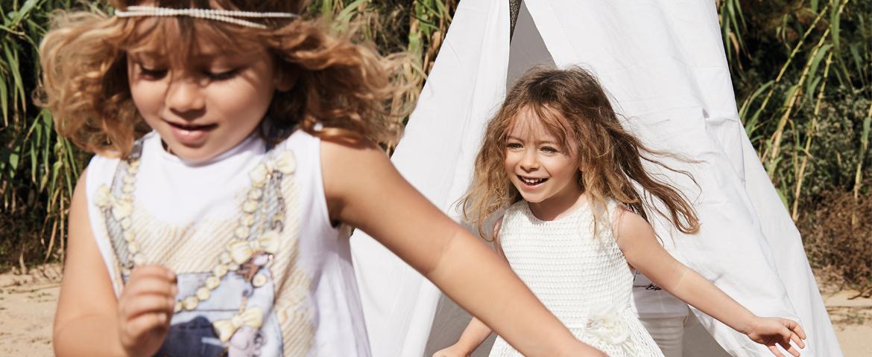 Elsy baby, l'abbigliamento cerimonia bambina si ispira alla natura