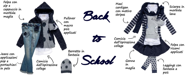 La moda bimbi Back to School made in Elsy