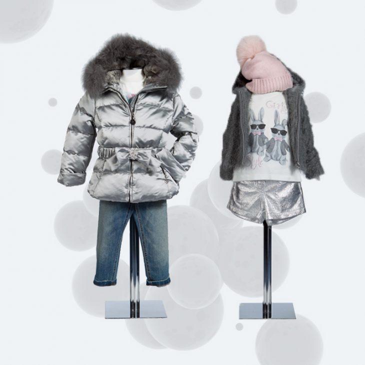Un abbigliamento bambina dall'ispirazione spaziale