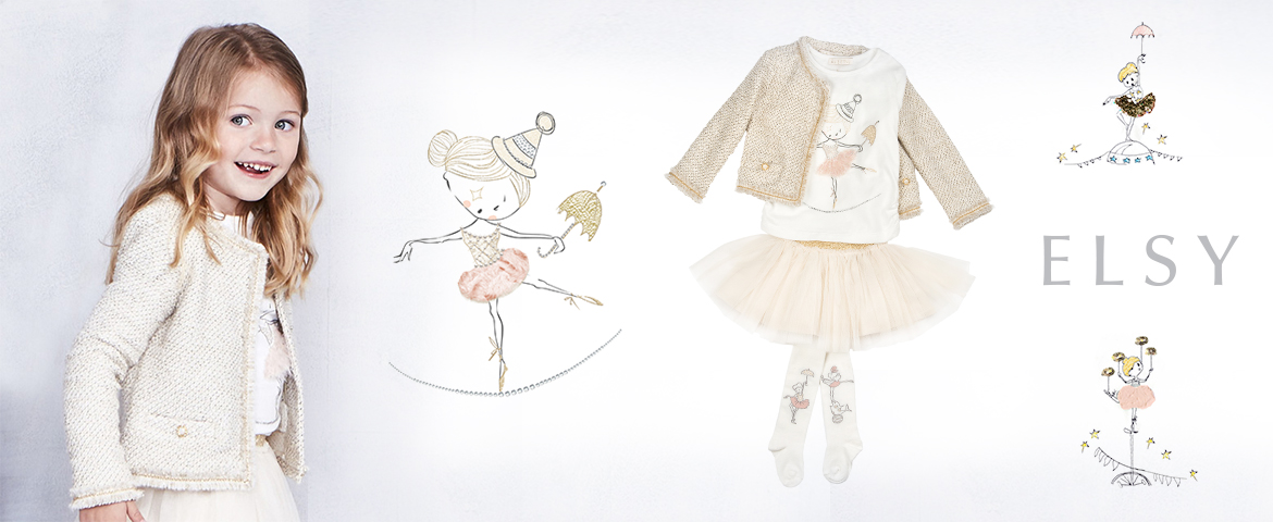 Happy circus: childrenswear with playful and chic spirit